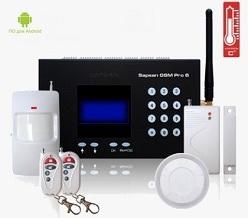 Беспроводная охранная gsm сигнализация страж для дома и дачи купить
